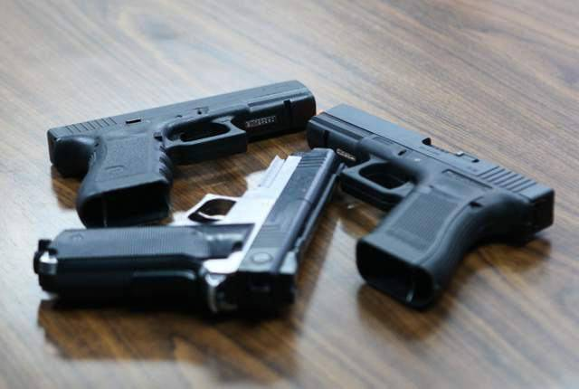 Пистолеты страйкбольные
