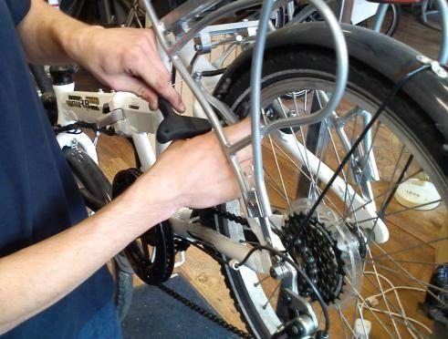 Обслуживание вилки велосипеда