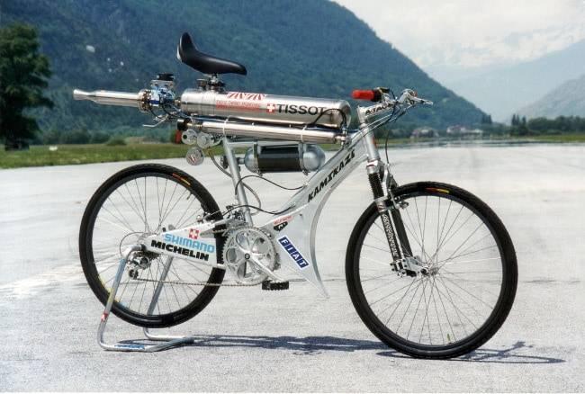 Самая большая скорость на велосипеде