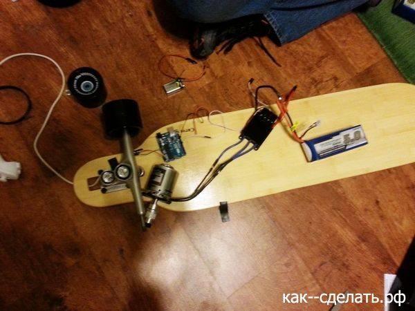 Электро скейтборд своими руками