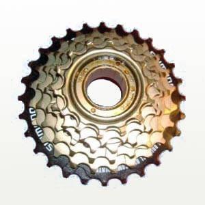 Снятие кассеты задних звездочек велосипеда