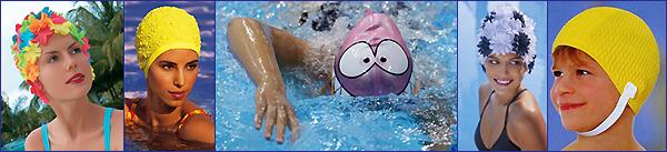 Шапка для плавания