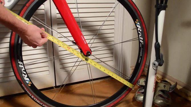 Длина окружности колеса велосипеда