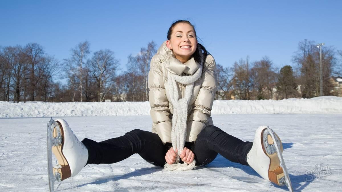 Как правильно кататься на коньках