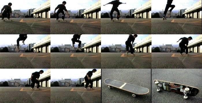 Самый сложный трюк на скейте