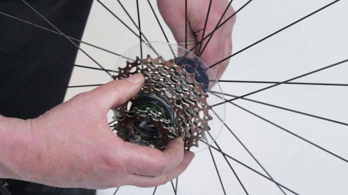 Как разобрать звездочку на скоростном велосипеде