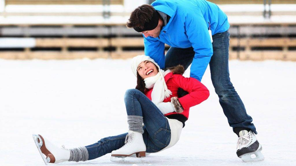 Катание на коньках обучение