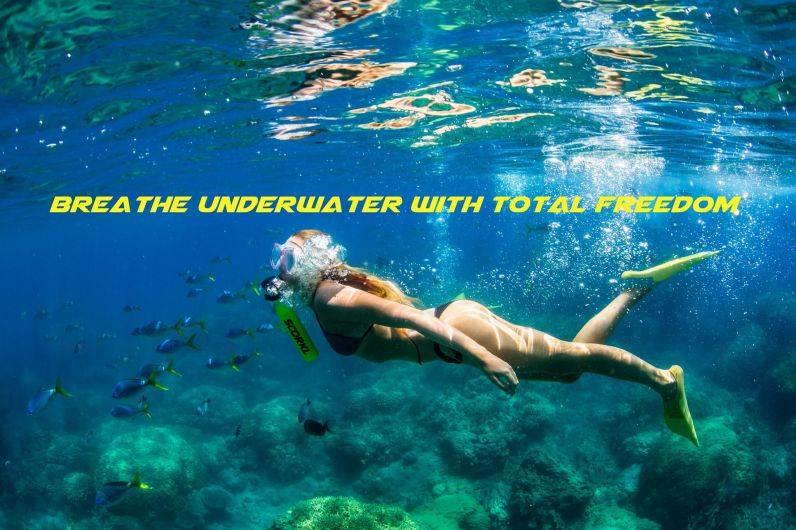 Баллон для дыхания под водой