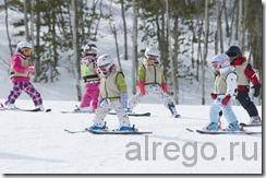Уроки горных лыж