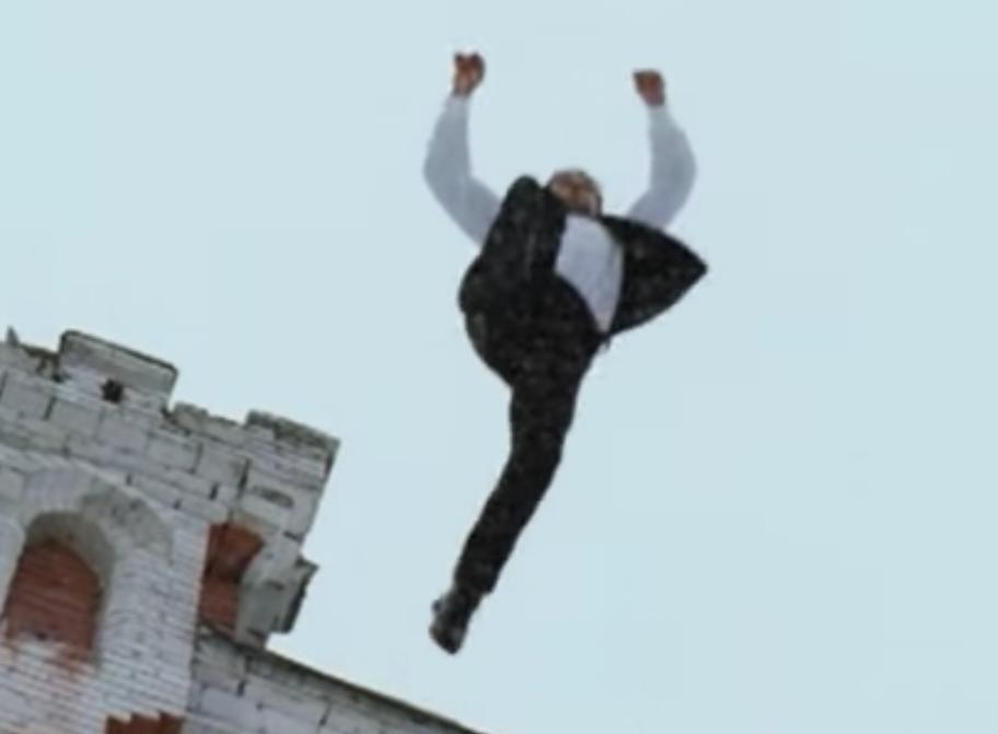 Как правильно приземляться после прыжка с высоты