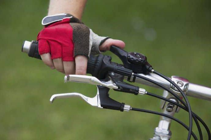Переключатель скоростей на велосипеде shimano