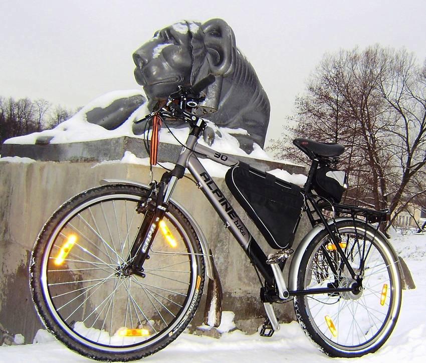 Велосипед с ручным приводом