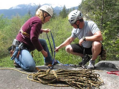Страховка альпиниста