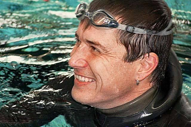 Мировой рекорд под водой без воздуха