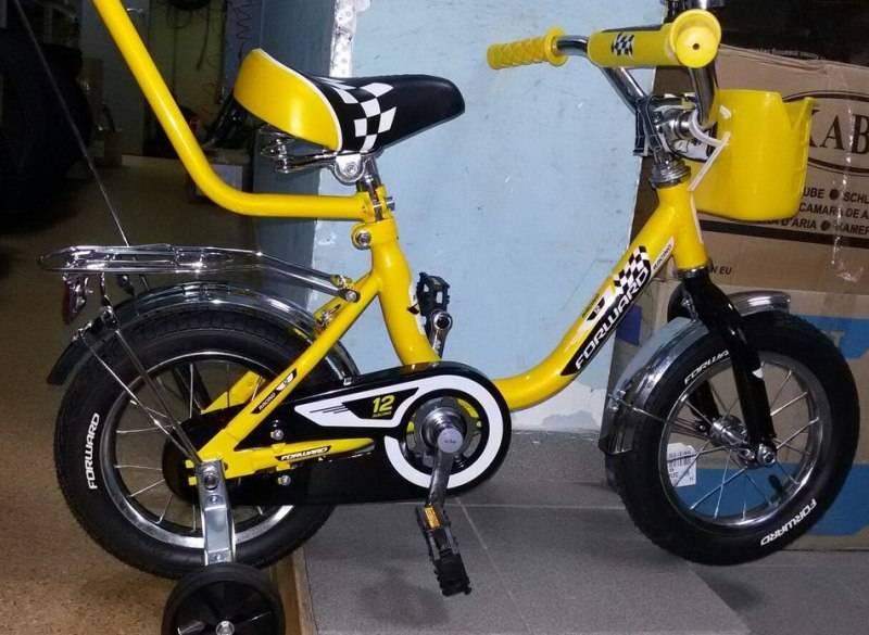 Сборка детского велосипеда