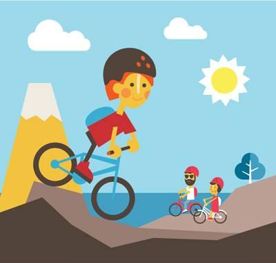 Принцип переключения скоростей на велосипеде