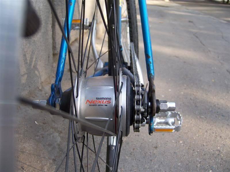 Строение заднего колеса велосипеда