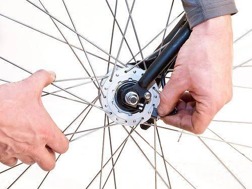 Как собрать колесо велосипеда
