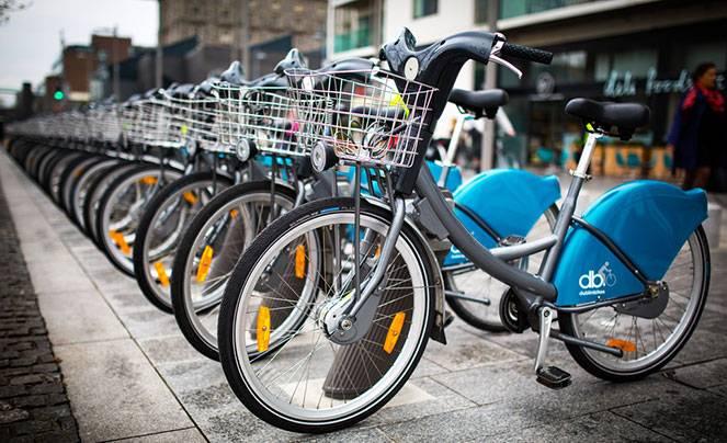 Велодорожки и парковки в Германии