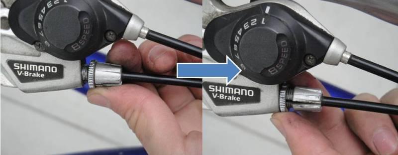 Ручной тормоз на велосипед