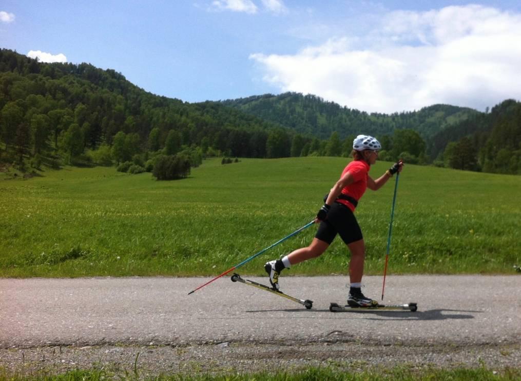 Лыжи на колесах