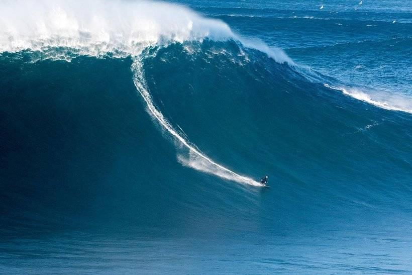 Где самые большие волны