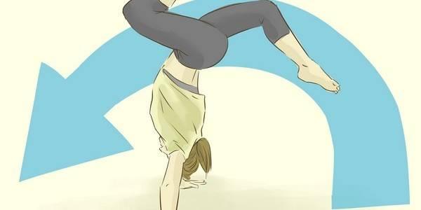 Как делать переднее сальто
