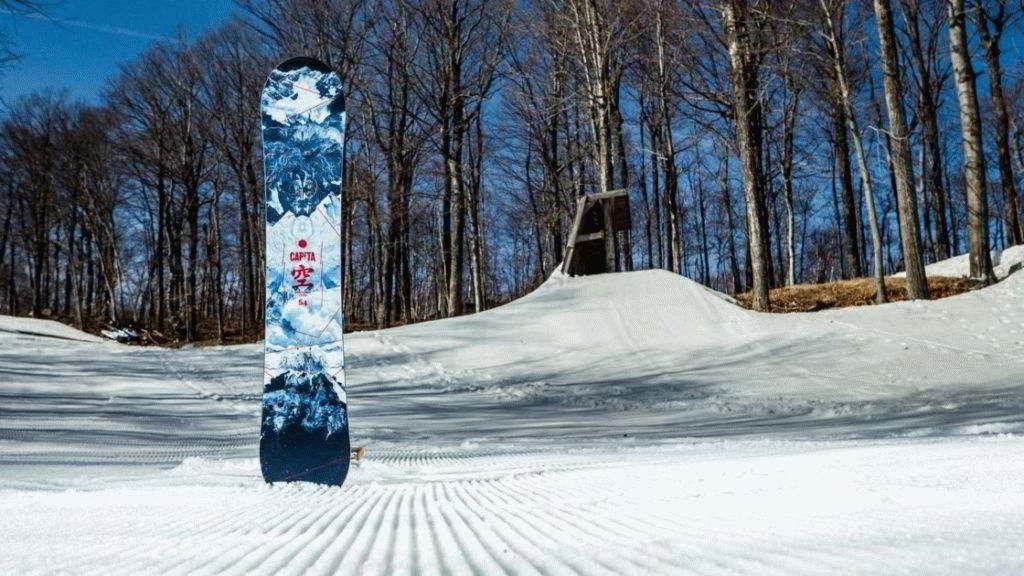 Маленький сноуборд