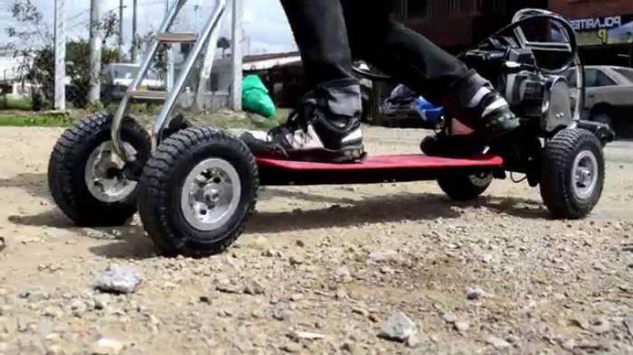 Как называется маленький скейт