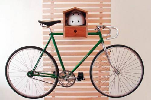 Кронштейн для велосипеда на стену своими руками