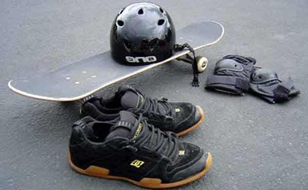 Обучение скейтборд