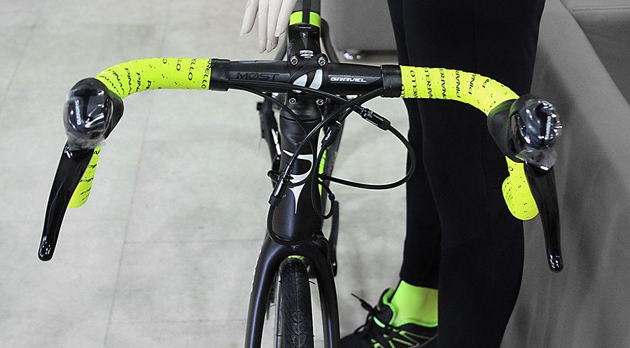 Обмотка руля велосипеда