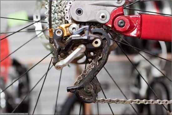 Натяжение цепи на велосипеде