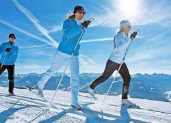 Подобрать беговые лыжи