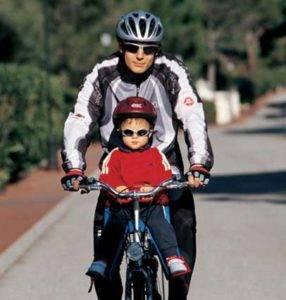 Как выбрать детское кресло на велосипед