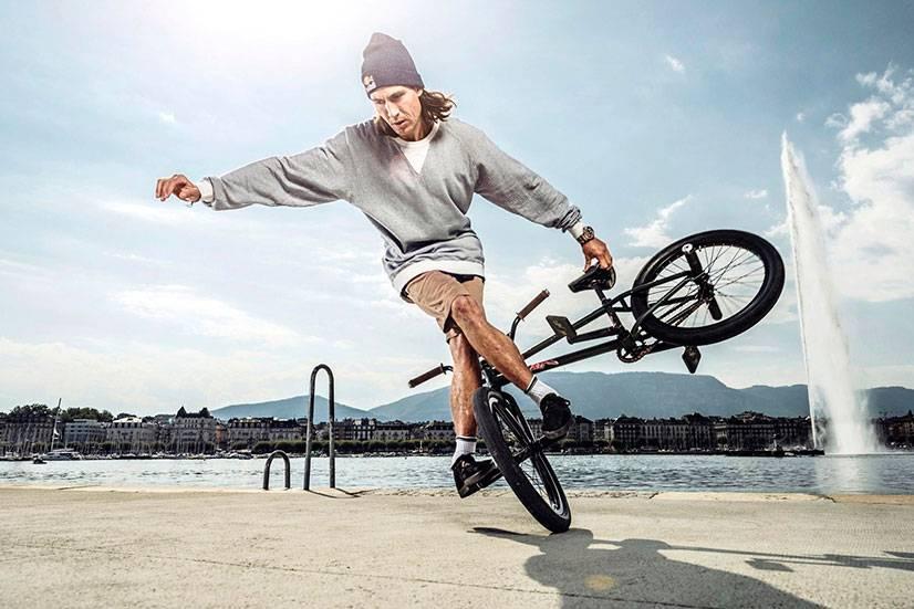 Трюки на обычном велосипеде