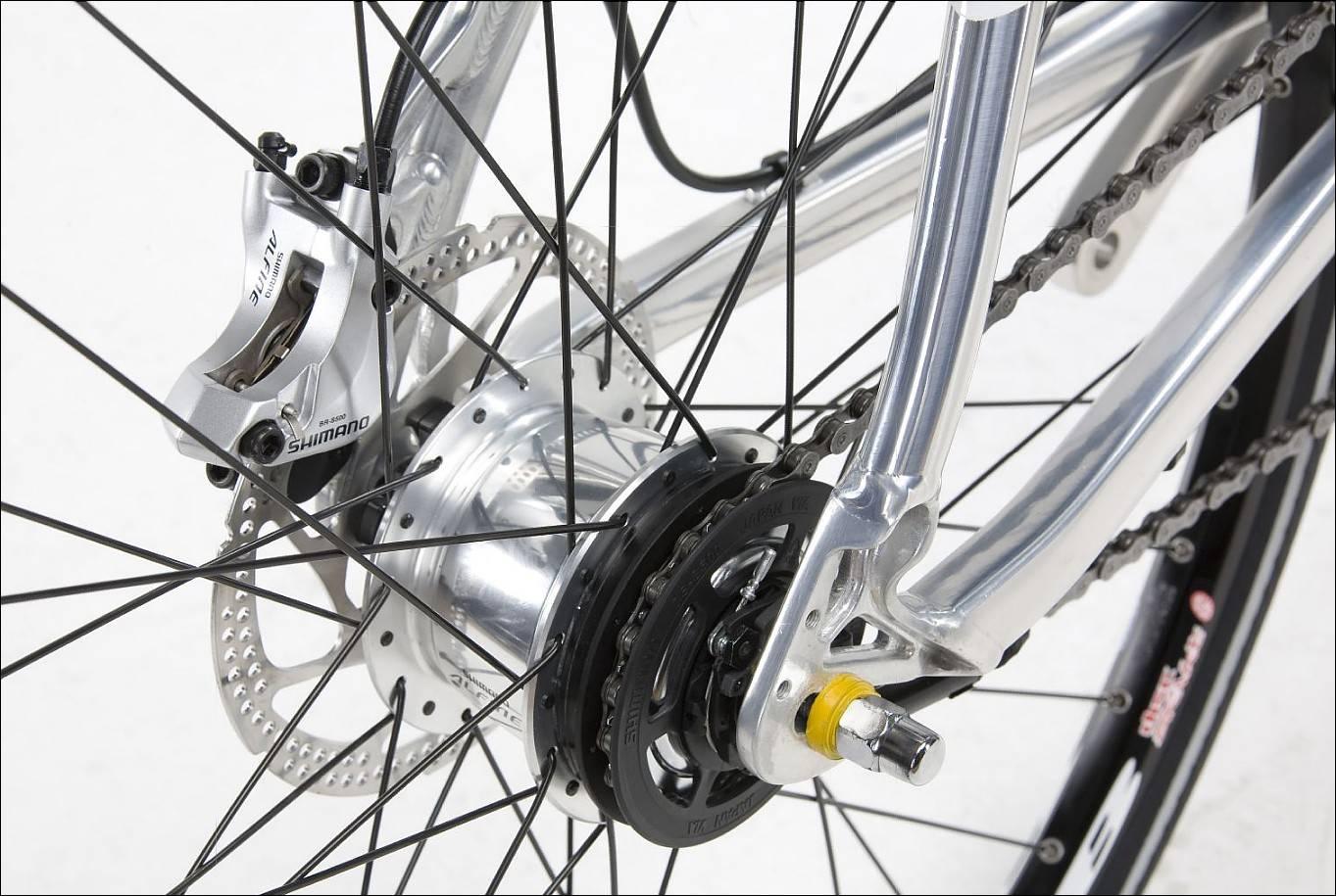 Велосипед с коробкой передач