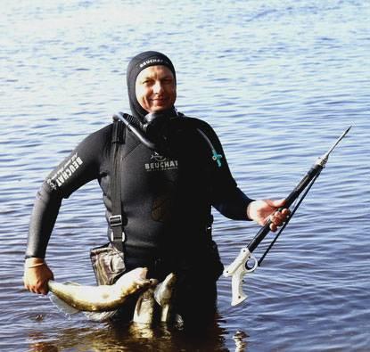Гарпун для подводной охоты своими руками