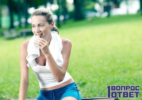 Сколько нельзя есть после тренировки