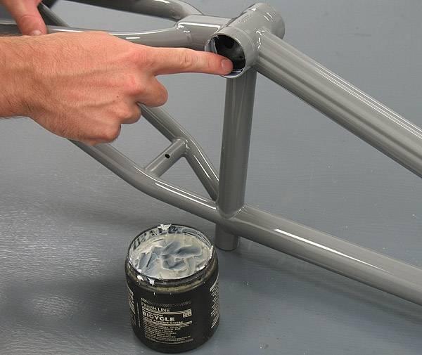 Как смазать каретку велосипеда