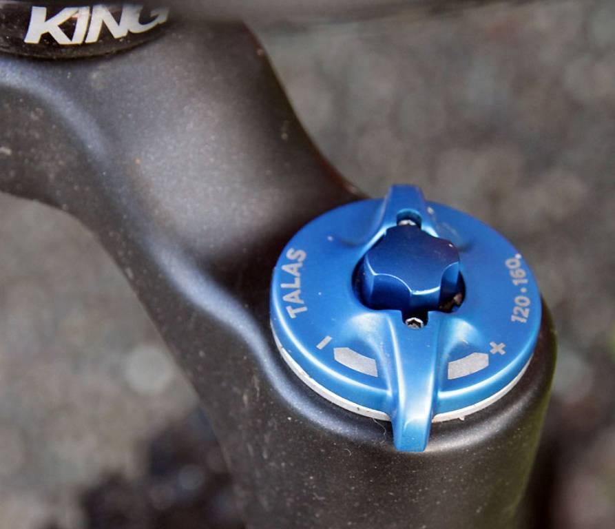 Вилка велосипедная амортизационная - регулировка изменения хода вилки