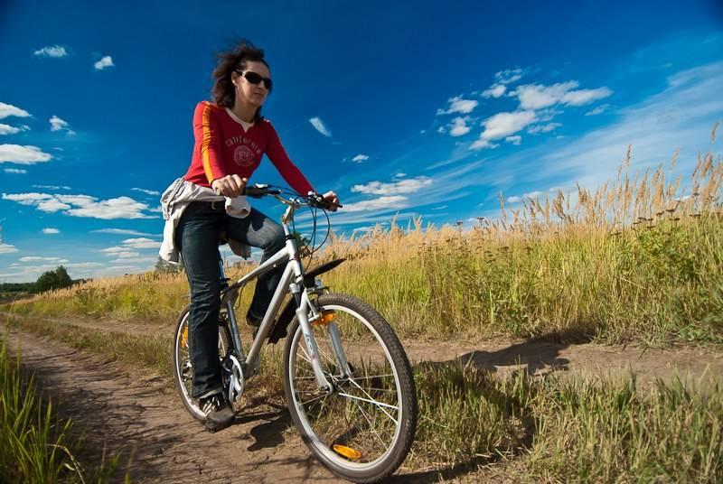 Сжигание калорий на велосипеде