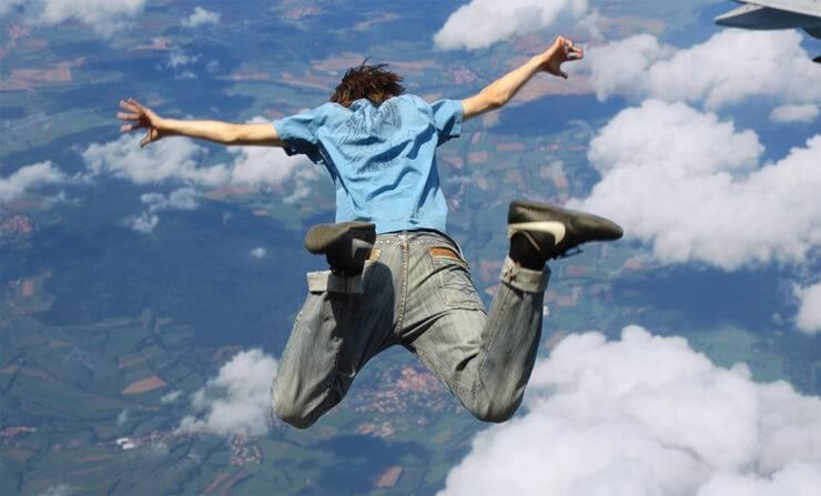 Минимальная высота прыжка с парашютом