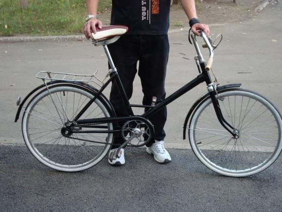 Велосипед салют размер колеса