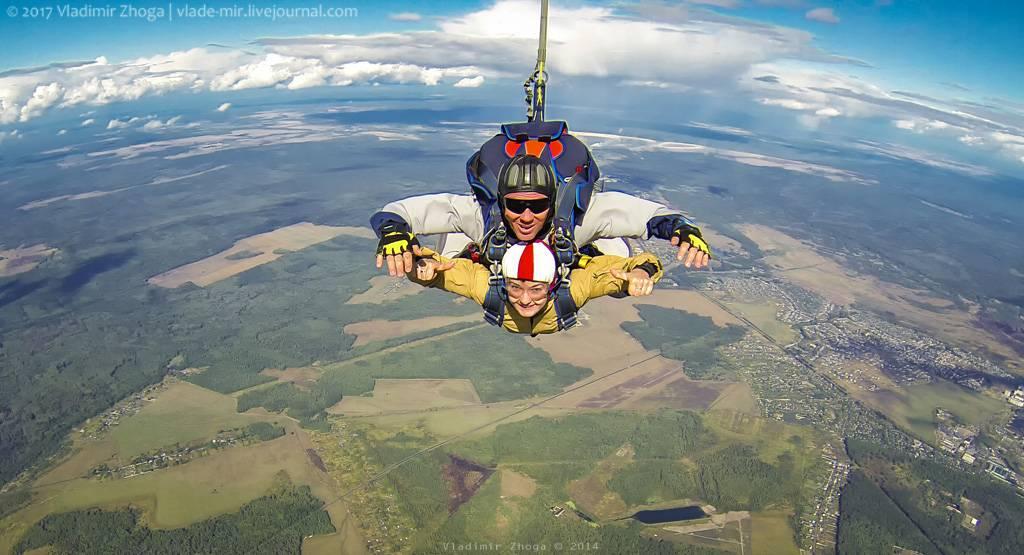 Как прыгать с парашютом