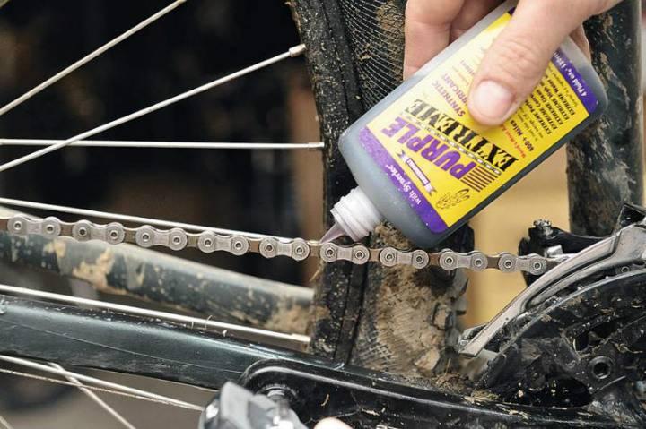 Графитная смазка для велосипеда
