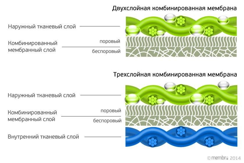 Виды мембран