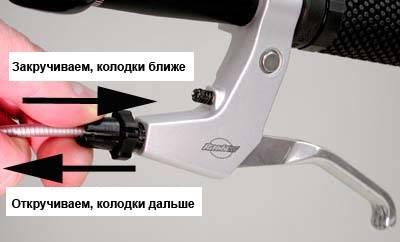 Как настроить тормоза v brake