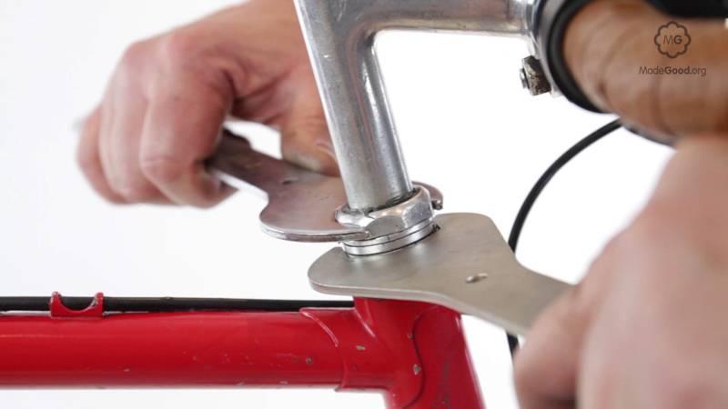 Как собрать рулевую колонку велосипеда