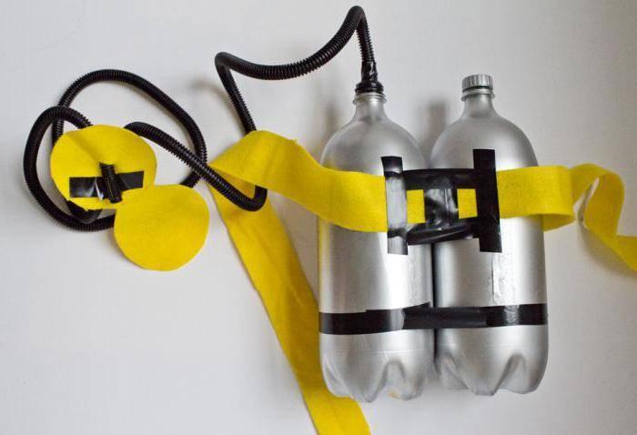 Как сделать акваланг в домашних условиях